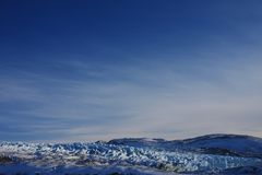 The Russell Glacier, Greenland Stock Photos