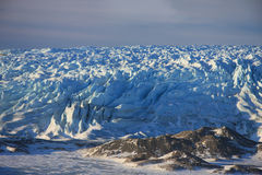 The Russell Glacier, Greenland royalty free stock images