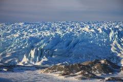 Russell Glacier, Groenland royalty-vrije stock afbeeldingen