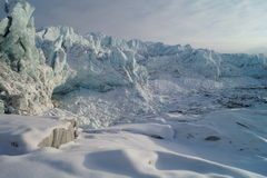Russell Glacier, Greenland. View of Russell Glacier, Greenland Royalty Free Stock Image
