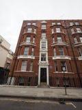 Russell-Haus in London Stockbilder