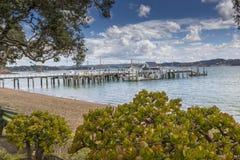 Russell near Paihia, Bay of Islands, New Zealand Stock Image