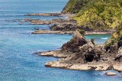 Τοπίο από το Russell κοντά σε Paihia, κόλπος των νησιών, Νέα Ζηλανδία Στοκ φωτογραφία με δικαίωμα ελεύθερης χρήσης