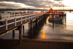 Russell Pier Arkivfoto