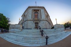 Russell Senate Office Building, Washington DC, U.S.A. fotografia stock libera da diritti