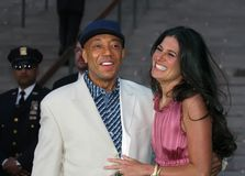 Russell Simmons. Entrepreneur, author, and producer Russell Simmons arrives at the Vanity Fair party for the 5th Annual Tribeca Film Festival on April 26, 2006 Stock Image