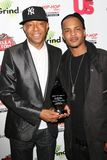 Russell Simmons, T.I.,. Russell Simmons and T.I. at the 'Celebration to Grammy Nominees' Post Grammy Party. Private Location, Beverly Hills, CA. 02-08-09 Stock Photo
