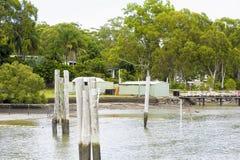 Russell wyspy widok nabrzeże obraz royalty free