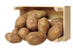 Russet potato Stock Photos