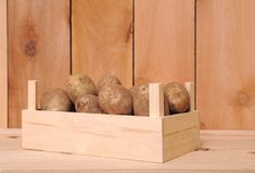 Russet potato Royalty Free Stock Image