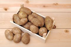 Russet potatoes Royalty Free Stock Photos