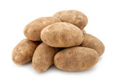 Russet Potatoes Stock Photo