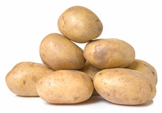 Russet Potatoes Stock Images
