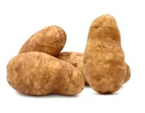 Russet Potatoes Stock Photography