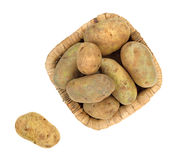 Russet potatoes Stock Photos