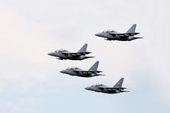 Russia aircraft in an air show Royalty Free Stock Photography