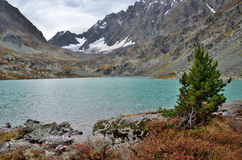 Russia, Altai mountains, lake Kuyguk Kuiguk in autumn Royalty Free Stock Photography