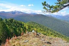Russia, Altai mountains, nature near Maralnik village Stock Photo