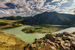 Russia, Altai mountains, Severo-Chui Range Royalty Free Stock Photography