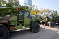 Russia antiaircraft missiles Royalty Free Stock Photography