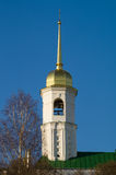 Russia. Arzamas. The belfry of the church of St. John the Theologian. Royalty Free Stock Photos