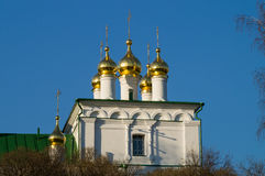 Russia. Arzamas. Dome of church of St. John the Theologian. Royalty Free Stock Photo