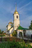 Russia. Arzamas. Orthodox church. Royalty Free Stock Photography