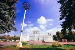 RUSSIA, 8 AUGUST 2014, main pavilion ENEA park in Stock Photography