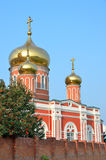 Russia, Barnaul Znamensky female monastery Stock Photography