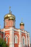 Russia, Barnaul Znamensky female monastery Royalty Free Stock Photography