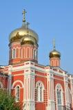 Russia, Barnaul Znamensky female monastery Royalty Free Stock Photos