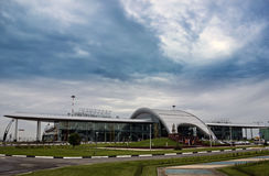 Russia, Belgorod, the new airport building. Royalty Free Stock Photography