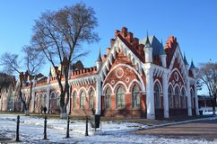 Russia, Blagoveshchensk, city trading rows `Mauritania`, 1908 year built. Russia. Blagoveshchensk, city trading rows `Mauritania`, 1908 year built Stock Photos