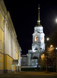Russia Cathedral Night Stock Images