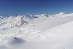 Russia. Caucasus. Elbrus ski resort Royalty Free Stock Photography
