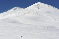 Russia. Caucasus. Elbrus ski resort Stock Photo