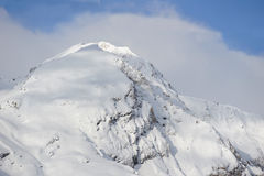 Russia. Caucasus. Elbrus ski resort Royalty Free Stock Photo