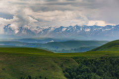 Russia, the Caucasus Mountains, Kabardino-Balkaria. The formatio Stock Photo