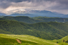 Russia, the Caucasus Mountains, Kabardino-Balkaria. The formatio Royalty Free Stock Photos