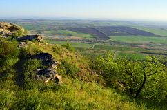 Russia, the Caucasus, view from mount VerbludCamel Stock Photo
