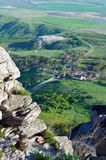 Russia, the Caucasus, view from mount VerbludCamel Royalty Free Stock Image