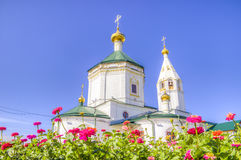 Russia Cheboksary Transfiguration convent Stock Photos