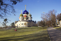 Russia. Christian temple in Moscow. Royalty Free Stock Photography