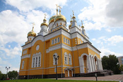 Russia. The Church of Cyril and Methodius in Saransk Royalty Free Stock Photo
