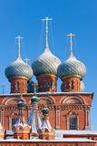 Russia, church in Kostroma stock image