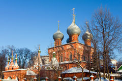 Russia, church in Kostroma Royalty Free Stock Photo