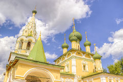 Russia Church  Nativity St. John  Baptist Uglich Stock Photo