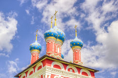 Russia Church Tsarevich Dmitry Blood Uglich Royalty Free Stock Photos