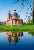 Russia, church in Volgorechensk Stock Image