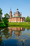 Russia, church in Volgorechensk Royalty Free Stock Image